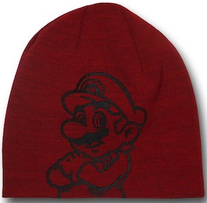 Nintendo Mario And More Beanie Hat