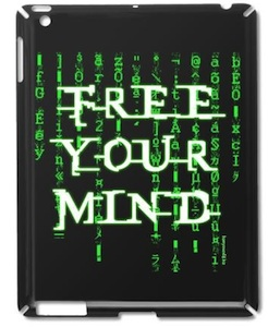 Matrix Free Your Mind case for the iPad 2