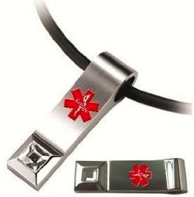 Medical ID Necklace Flash Drive