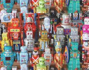 Metal Robots Puzzle