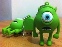 Monsters Inc Mike Wazowski USB Flash Drive