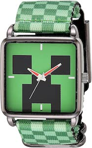 Minecraft Creeper Wrist Watch