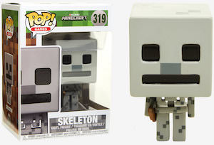 Minecraft Skeleton Figurine