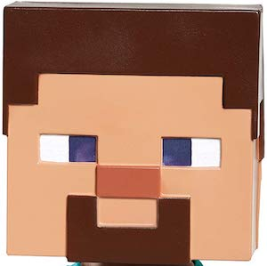 Minecraft Steve Head Mask