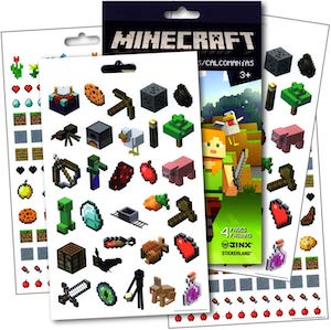 Minecraft Sticker Set