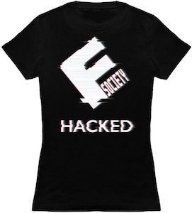 Mr. Robot Hacked Evil Corp Logo T-Shirt