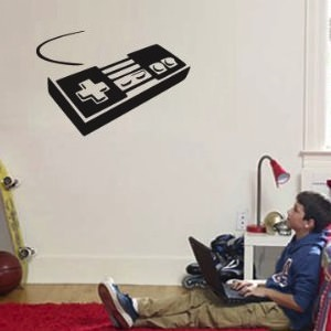 Classic NES Controller Wall Decal