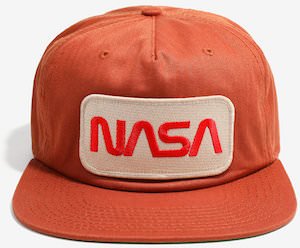 NASA Snapback Hat