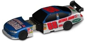 Car shaped USB flash drive based on a Nascar Racing car