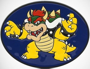 Nintendo Bowser Belt Buckle
