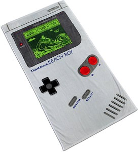 Nintendo Game Boy Beach Towel