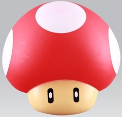 Nintendo Super mushroom decoration