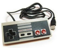 A USB version of the Nintendo NES Classic controller