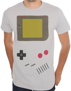 Nintendo Gameboy costume t-shirt