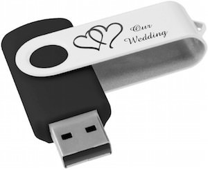 Our Wedding USB Flash Drive