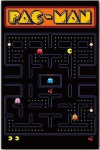 Pac-Man videogame poster