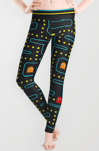 Pac Man Game Leggings