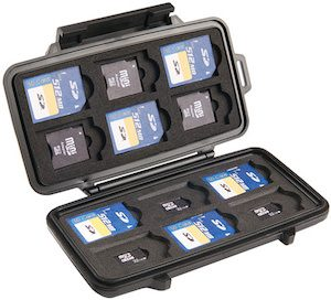 Pelican 0915 Memory Card Storage Case