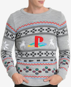 Sony Playstation Christmas Sweater