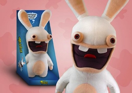 Rayman Raving Rabbids Screaming Plush