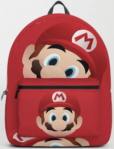 Red Mario Backpack