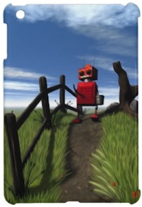 Red Robot iPad Mini Case
