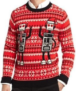 Robots Ugly Christmas Sweater