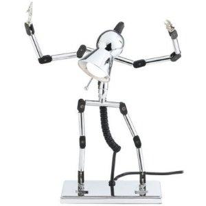 Robot desk light lamp