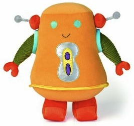 Robot plush that is soft and cuddlie