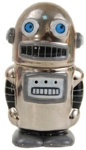 Magnetic robot salt & Pepper shaker