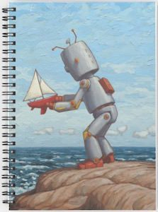 Robot And It's Sailboat notebook