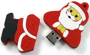 Christmas Santa USB Flash drive