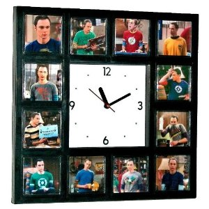 The Big Bang Theory Sheldon Cooper wall Clock