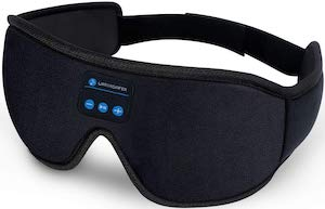 Eye Mask With Build In Headphones