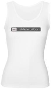 Slide To Unlock Women's Tank Top