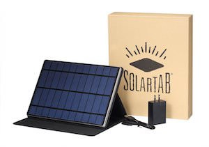 Solartab Solar Charger With Build In Battery