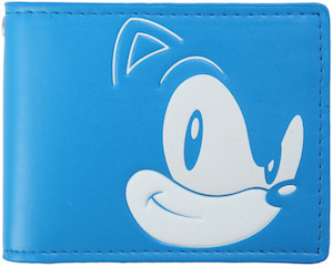 Blue Sonic The Hedgehog Wallet