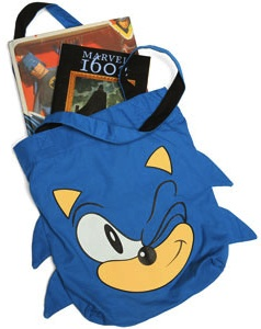 Sonic is fast and blue and this bag is to