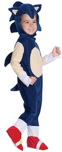 Sonic The Hedgehog Kids Halloween Costume