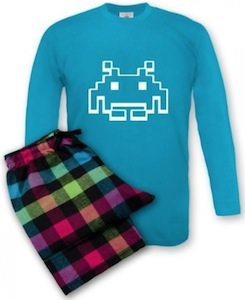 Space Invaders Pajamas