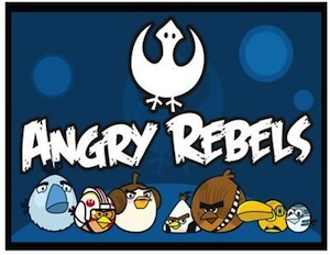 Star wars angry rebels magnet