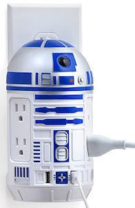Star Wars R2-D2 power charger for at home