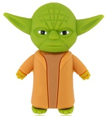 Star Wars USB Flash Drive that looks like Yoda