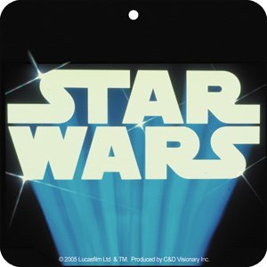 Star Wars logo air freshener