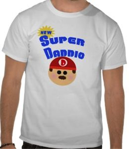 fathers day super daddio t-shirt