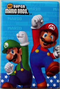 Super Mario Bros Passport Cover