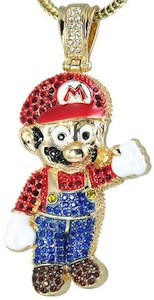 Nintendo Super Mario Large Necklace Pendant