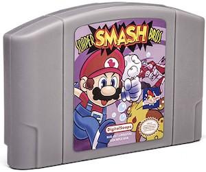 Super Mario Cartridge Shaped Bar Soap