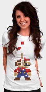 Super Mario Tetris T-Shirt