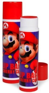Super Mario cherry flavored lip balm